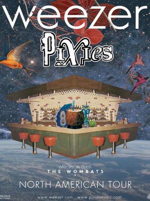 Weezer & Pixies at Walmart Arkansas Music Pavilion