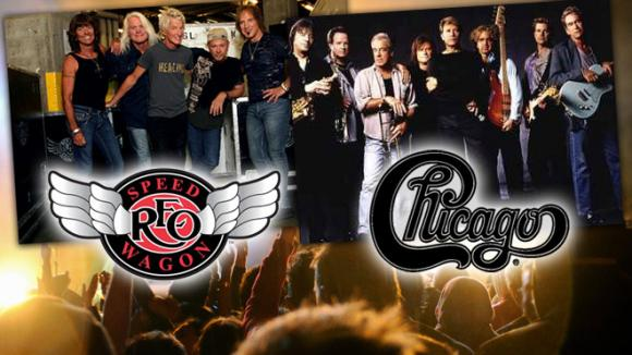Chicago & REO Speedwagon at Walmart Arkansas Music Pavilion