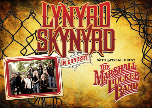 Lynyrd Skynyrd & Marshall Tucker Band at Walmart Arkansas Music Pavilion