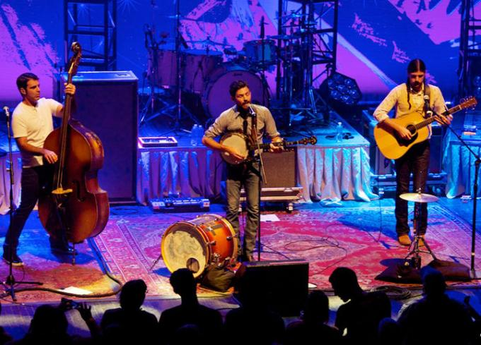 The Avett Brothers at Walmart Arkansas Music Pavilion