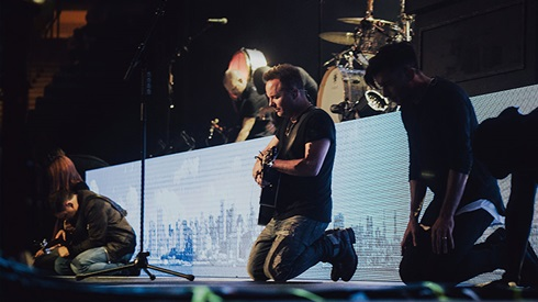 Chris Tomlin at Walmart Arkansas Music Pavilion