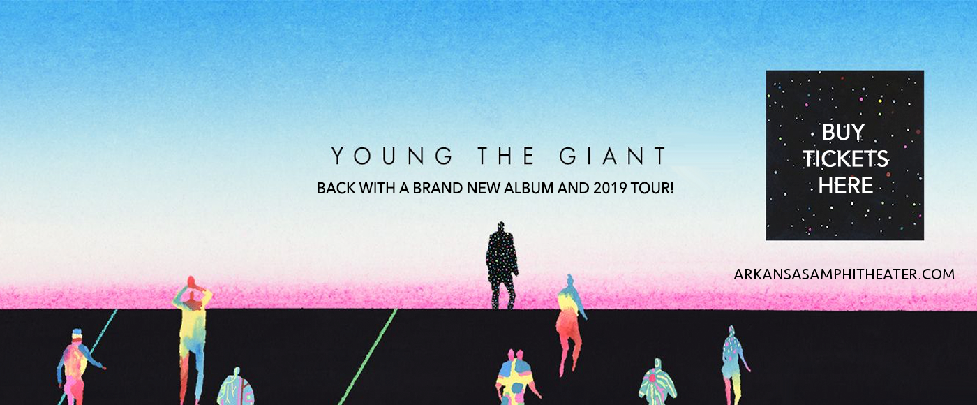 Young The Giant & Fitz and The Tantrums at Walmart Arkansas Music Pavilion