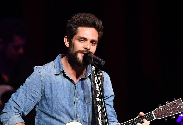Thomas Rhett, Dustin Lynch & Russell Dickerson at Walmart Arkansas Music Pavilion