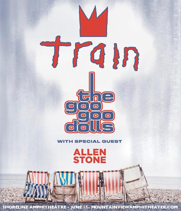 Train, Goo Goo Dolls & Allen Stone at Walmart Arkansas Music Pavilion