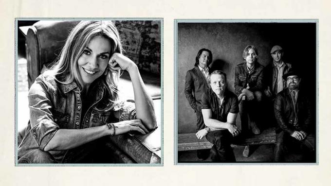 Sheryl Crow & Jason Isbell and The 400 Unit at Walmart Arkansas Music Pavilion