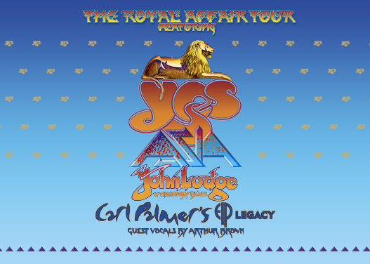 The Royal Affair: Yes, Asia, John Lodge & Carl Palmer's ELP Legacy at Walmart Arkansas Music Pavilion