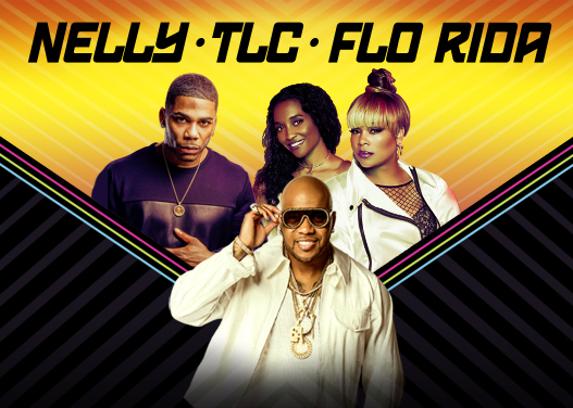 Nelly, TLC & Flo Rida at Walmart Arkansas Music Pavilion