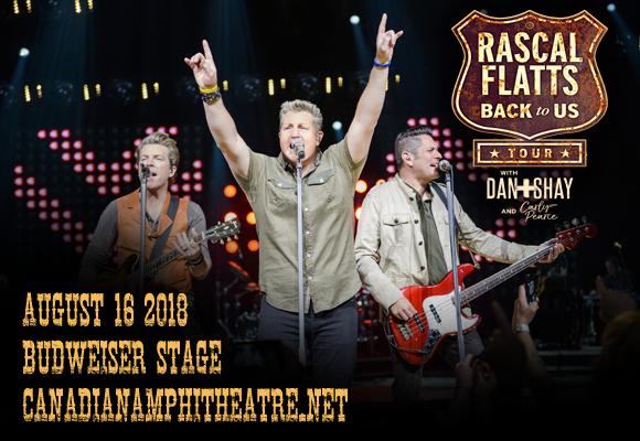 Rascal Flatts at Walmart Arkansas Music Pavilion