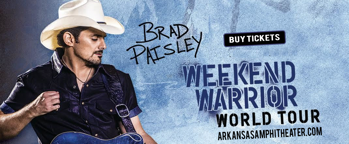 Brad Paisley at Walmart Arkansas Music Pavilion