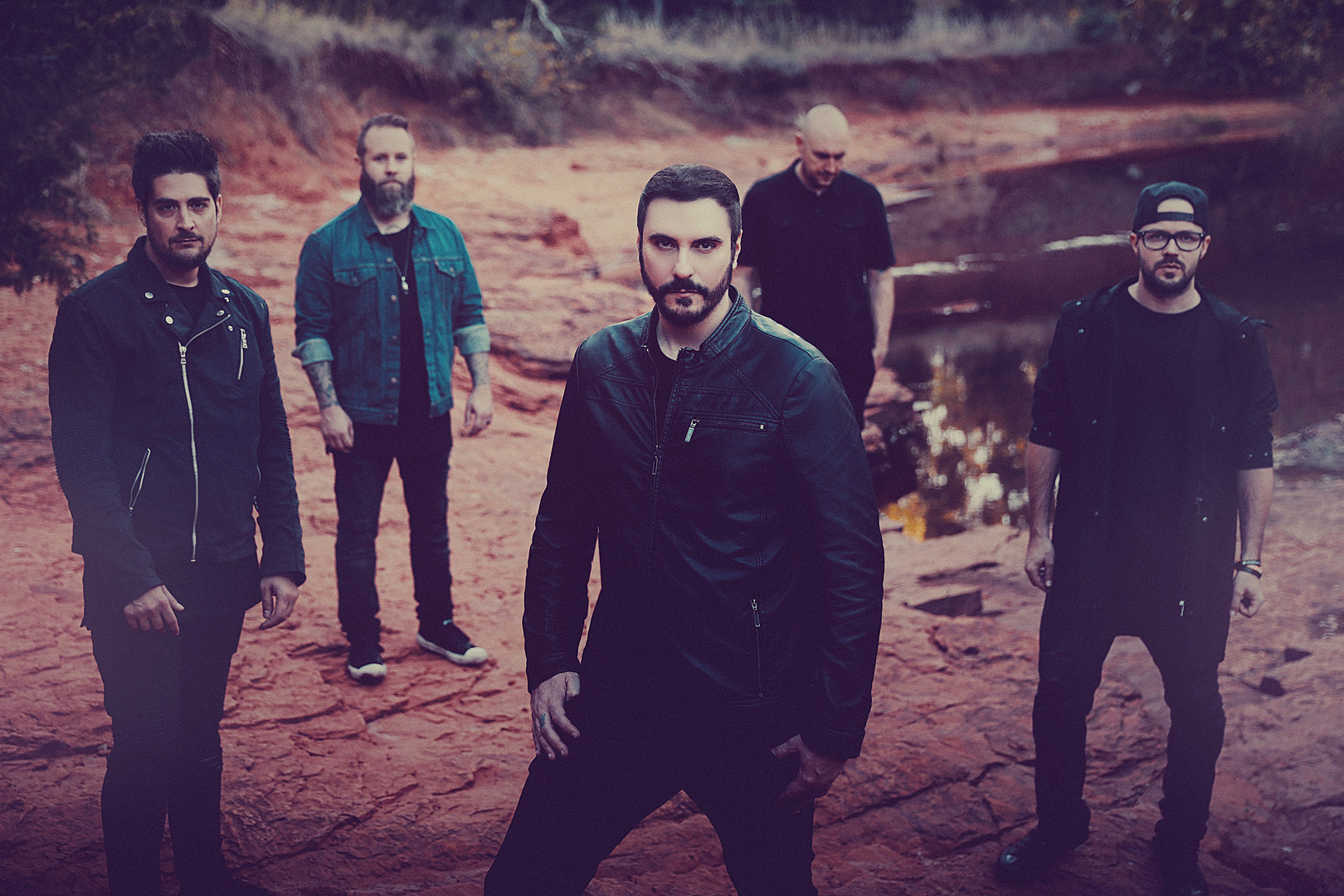 Breaking Benjamin, Chevelle & Three Days Grace at Walmart Arkansas Music Pavilion