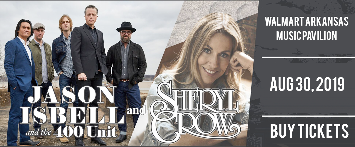 Sheryl Crow & Jason Isbell and The 400 Unit at Walmart Arkansas Music Pavilion