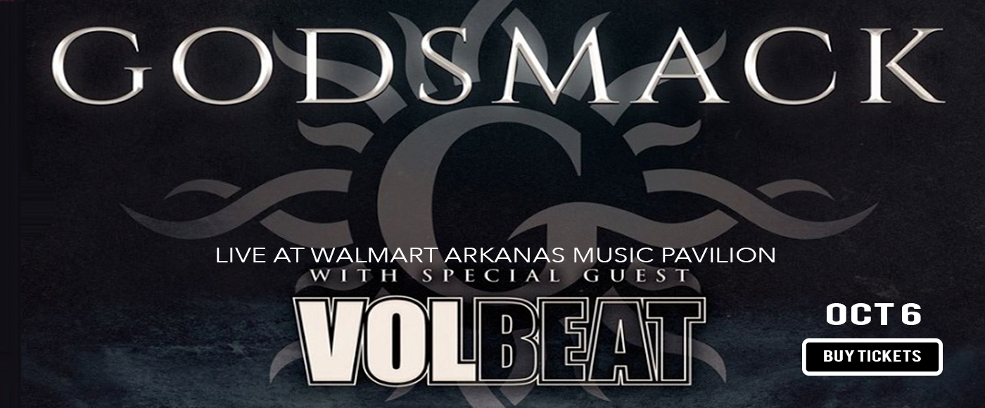 Godsmack & Halestorm at Walmart Arkansas Music Pavilion
