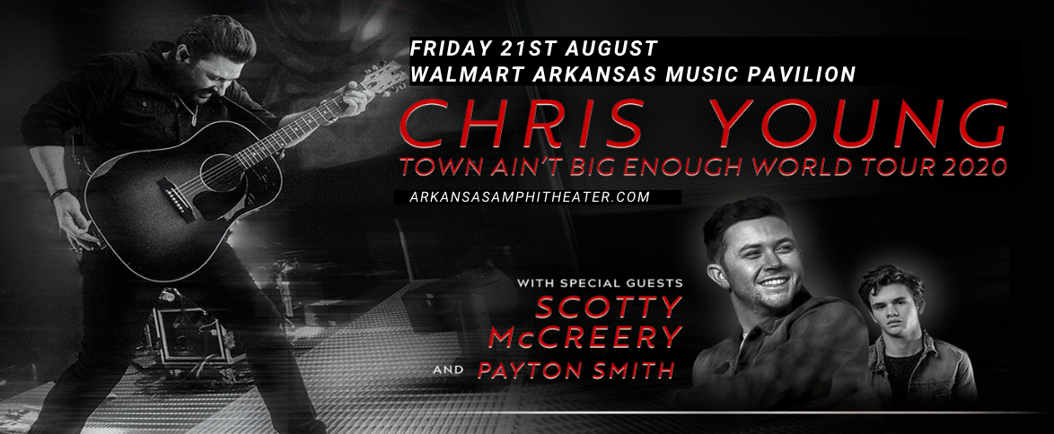 Chris Young, Scotty McCreery & Payton Smith at Walmart Arkansas Music Pavilion