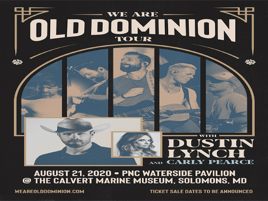Old Dominion, Dustin Lynch & Carly Pearce at Walmart Arkansas Music Pavilion
