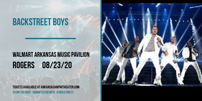 Backstreet Boys at Walmart Arkansas Music Pavilion