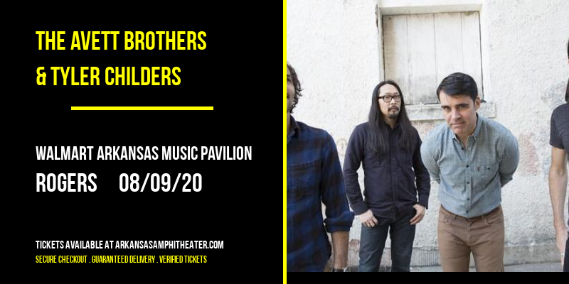 The Avett Brothers & Tyler Childers at Walmart Arkansas Music Pavilion