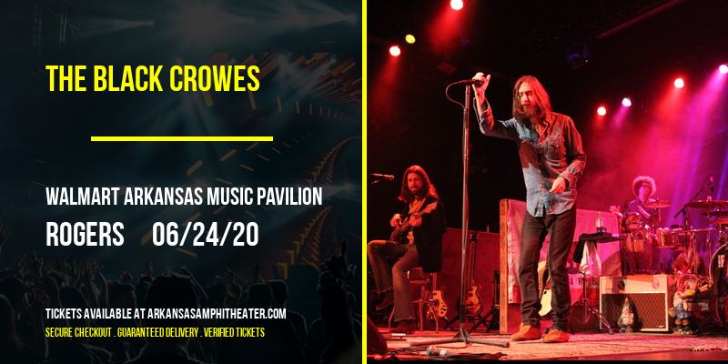 The Black Crowes at Walmart Arkansas Music Pavilion