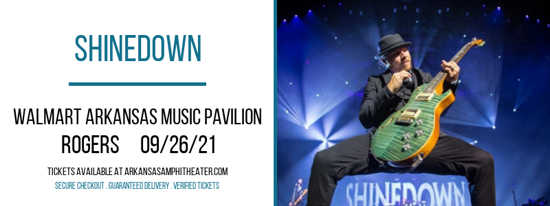 Shinedown at Walmart Arkansas Music Pavilion