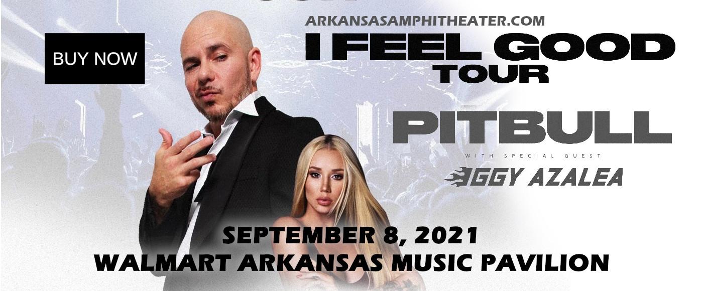 Pitbull at Walmart Arkansas Music Pavilion