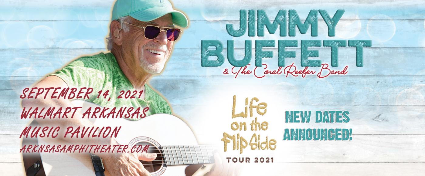 Jimmy Buffett and The Coral Reefer Band at Walmart Arkansas Music Pavilion
