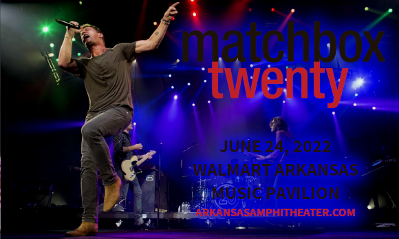 Matchbox Twenty & The Wallflowers at Walmart Arkansas Music Pavilion