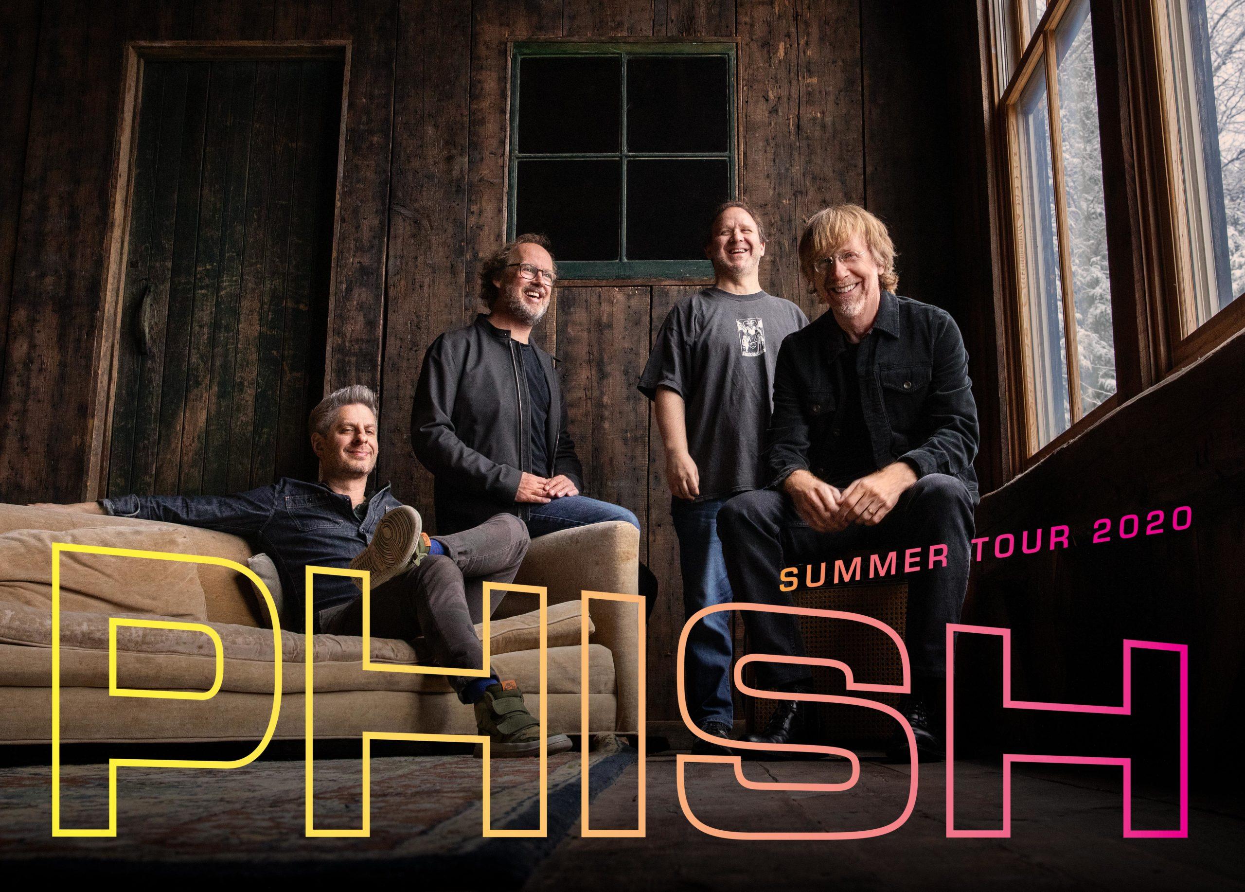 Phish at Walmart Arkansas Music Pavilion