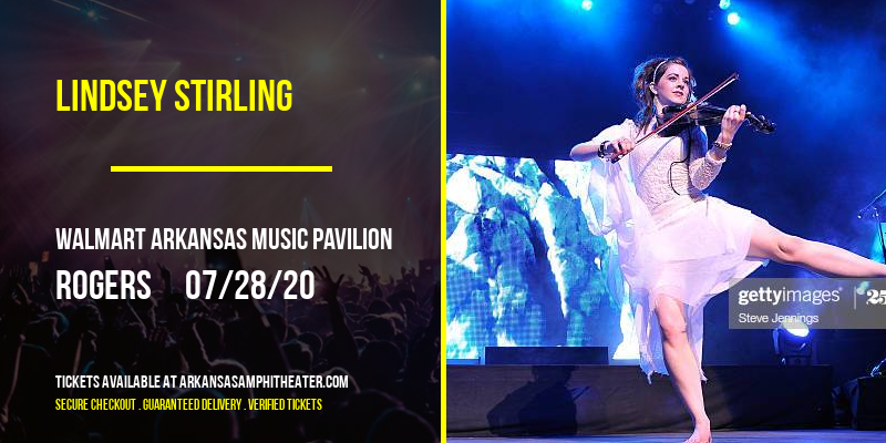 Lindsey Stirling at Walmart Arkansas Music Pavilion