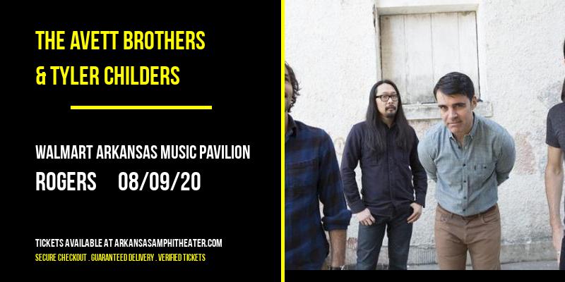 The Avett Brothers & Tyler Childers at Walmart Arkansas Music Pavilion