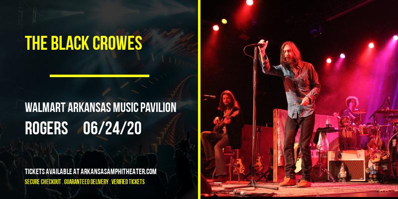 The Black Crowes at Walmart Arkansas Music Pavilion