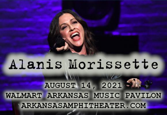 Alanis Morissette at Walmart Arkansas Music Pavilion